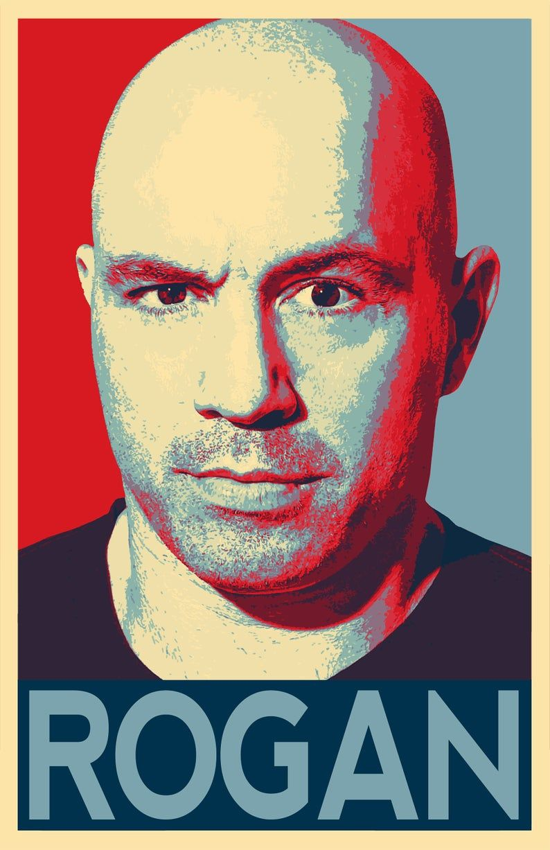 Joe Rogan Illustration Podcast Comedian Icon MMA Pop Art