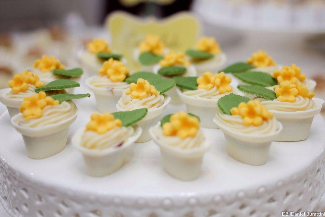 Flores de Nutella delicia!