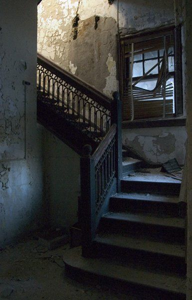 Staircase - Pennhurst State School  © opacity.us