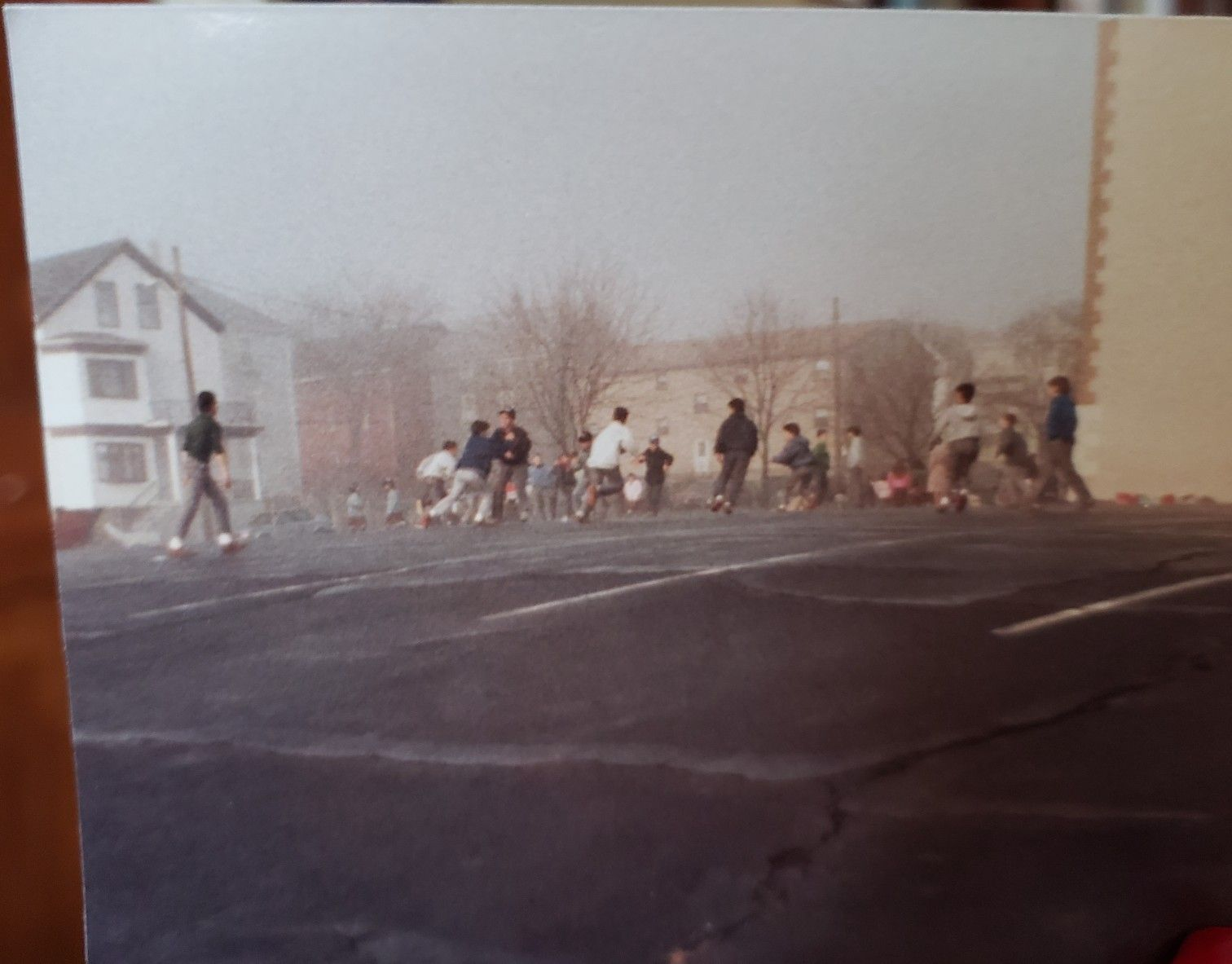 St Peter and Paul School schoolyard 1980s St peter and