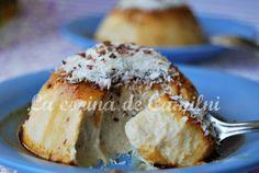 Flan de queso mascarpone y leche de coco