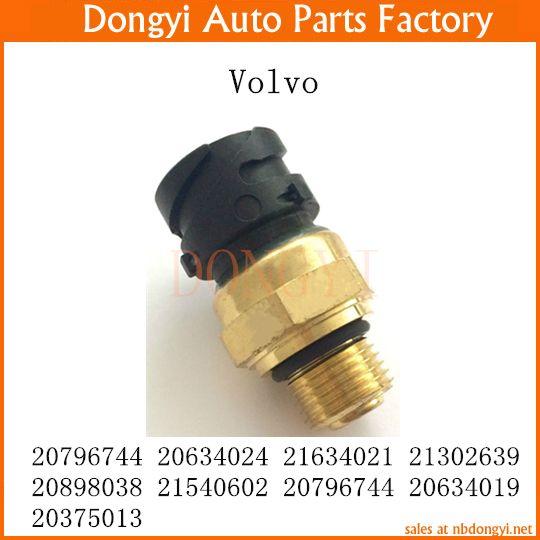 Oil Fuel Pressure Sensor Oem 20796744 20634024 21634021 21302639 20898038 21540602 20796744 20634019 20375013 For Volvo Truck Volvo Auto Auto Parts