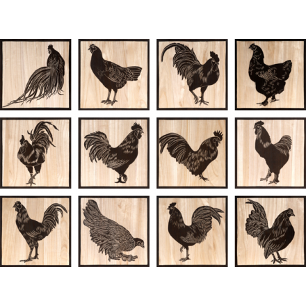 Chicken carving // DK home