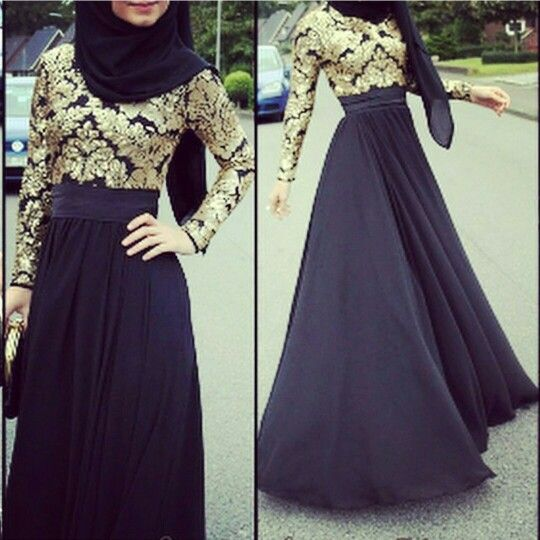 Muslimah Fashion Hijab Style Model Pakaian Wanita Pakaian