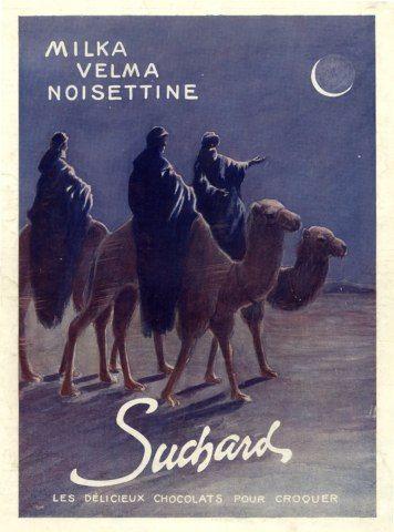Suchard (Chocolates) 1909 Milka, Velma, Camels, African Ruck