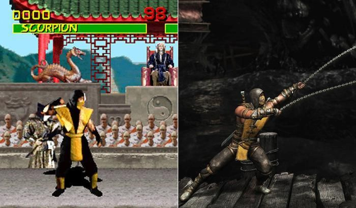 Video game characters have come a long way since their original debut (20 Photos)