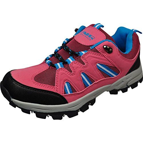 28b6f774ca4b Air Balance Girls Hiking Boots - Pink Blue -- Click on the image for  additional details.