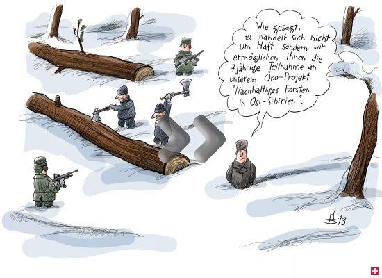 Bildergalerie - Postbotenkläffer und Abhörwölfe: Die Karikaturen der Woche | Cicero Online