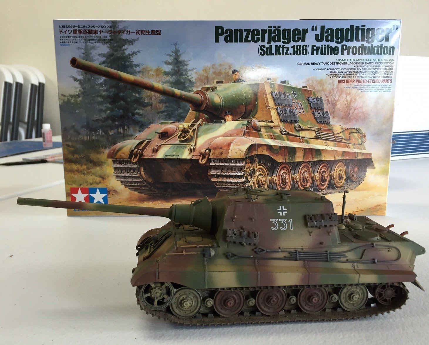 New! 1//16 Tamiya German Panther G Jagdpanther Metal Tank Tracks Detail Set