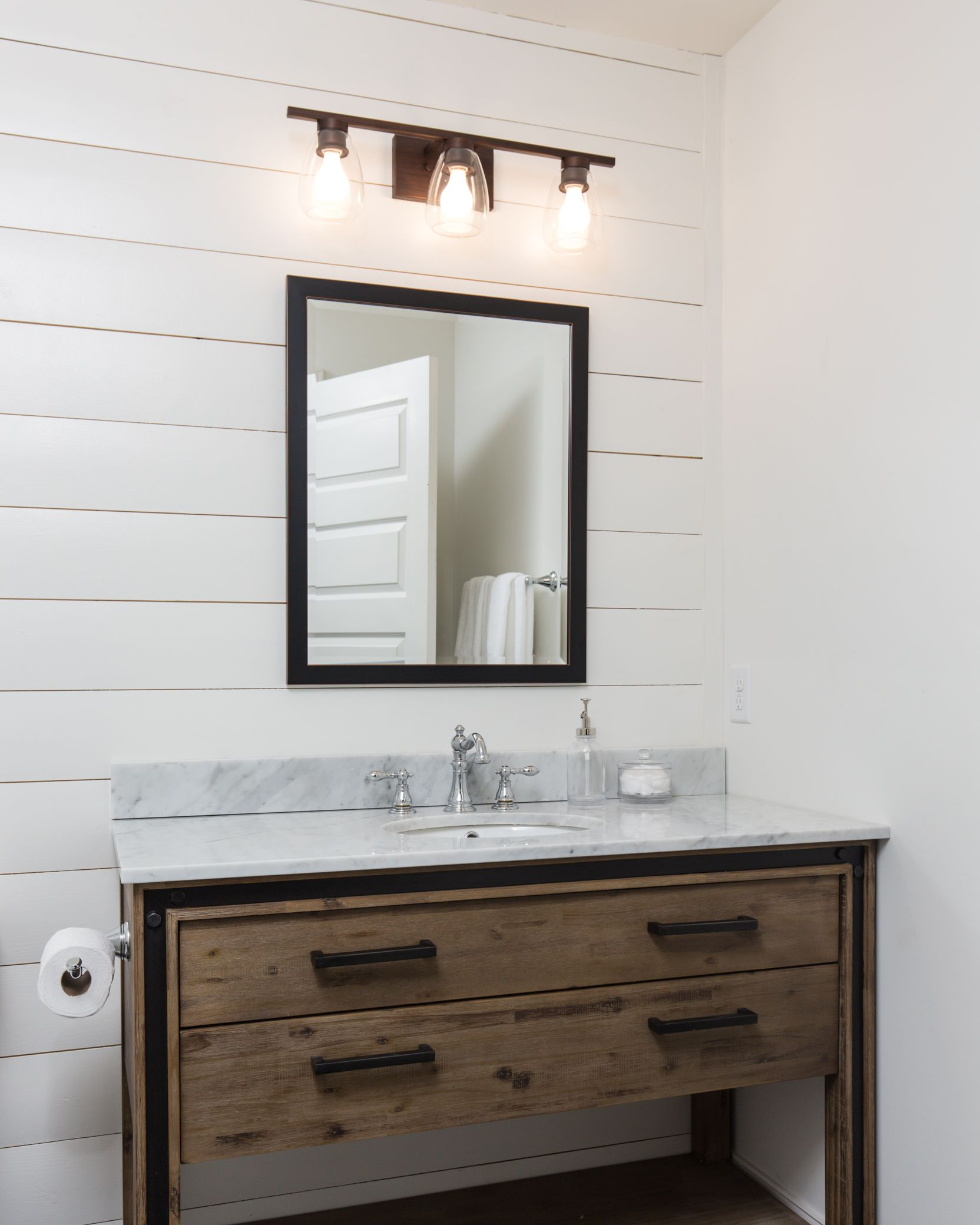 Superbe 1310 N 26th   Home Renovation In Richmond, VA, White Shiplap Bathroom And  Wooden