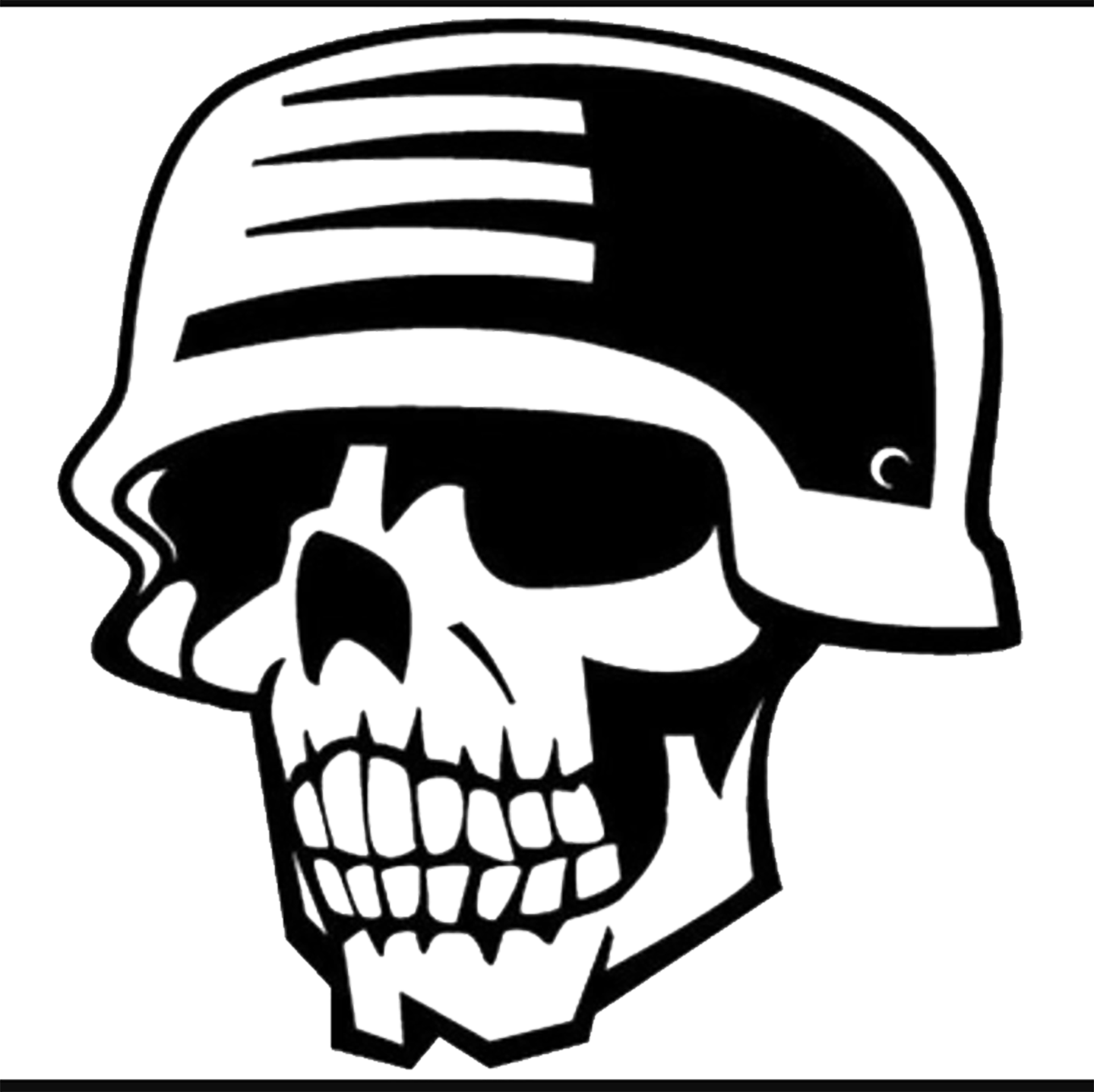 Skull decal Skull decal, Vector free, Free vector graphics