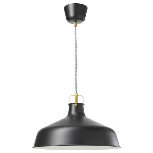 RANARP φωτιστικό οροφής IKEA   Black pendant lamp, Ikea