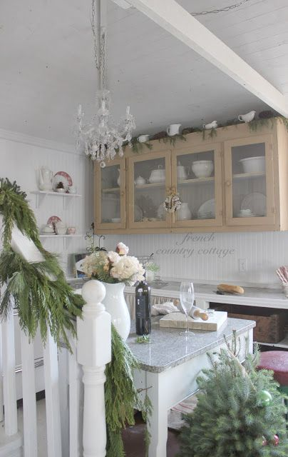 French Country Cottage  Shabby Lifestyle Design Blog Party - French country cottage blog