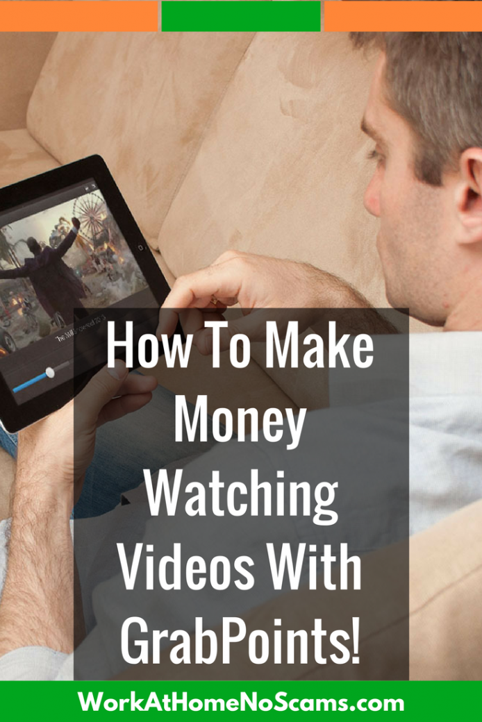 How To Make Money Watching Videos With GrabPoints. | How ...