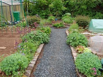 Gartenwege mit rindenmulch www 1 2 garten - Rindenmulch als gartenweg ...