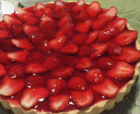 Tarte de Morango – Receitas Já, rapidas, faceis e simples Culinária para todos!!!
