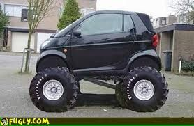 monster smart car!! Haha!!