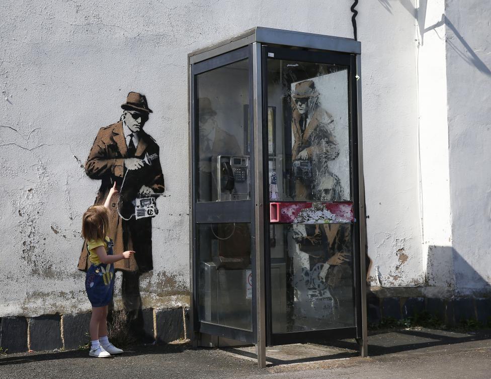 Best of Banksy Стрит арт, Граффити и Работы