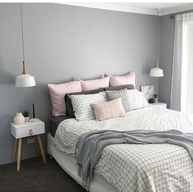 Apartment ideas   Neutral BedroomsPink Gray. Pin by Lyndsay Lazar on Homestead   Pinterest   Bedrooms  Room and