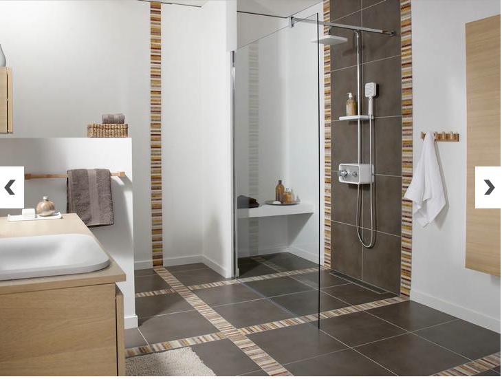 photo-salle-de-bains-3 | Dalles beton, Douche italienne et Salle de ...