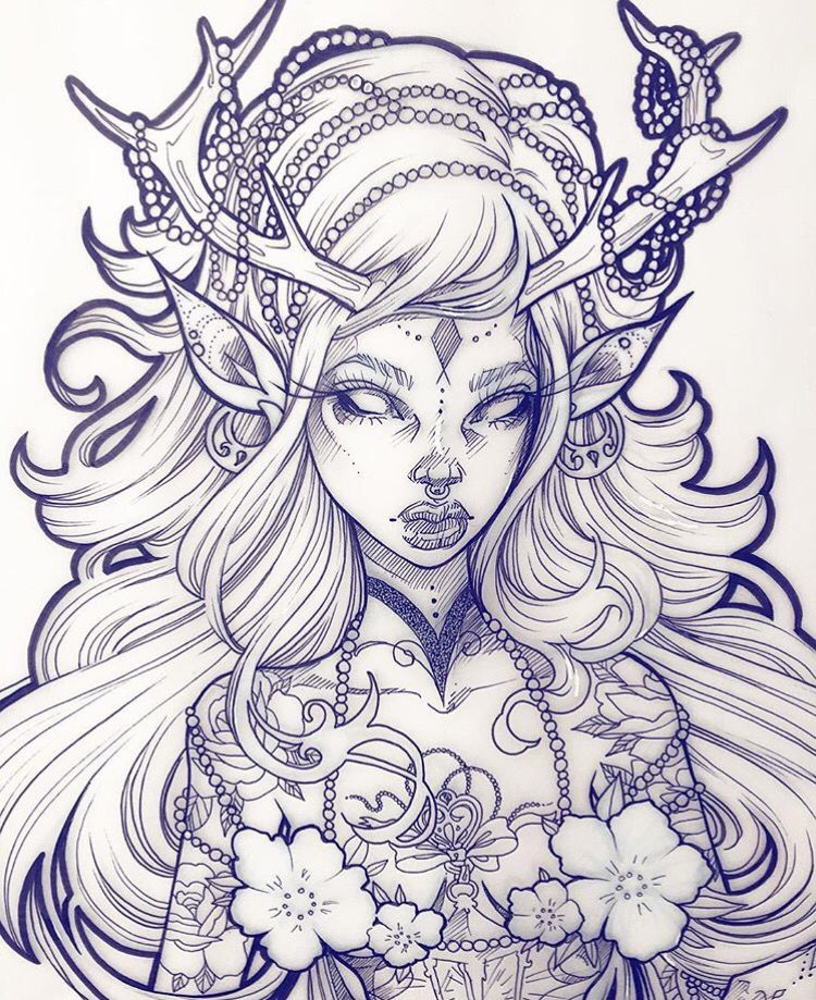 Pin by Jessica Rarig on drawings | Zeichnungen, Coole ...