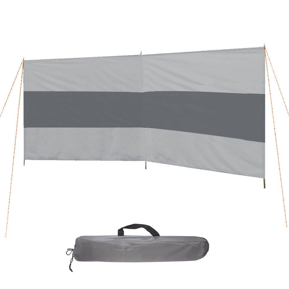 BOCAMP Camping Windschutz Sichtschutz Strand Muschel