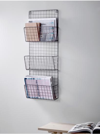 Wire Magazine Rack Keuken Idee Slaapkamer Decor Woonideeen