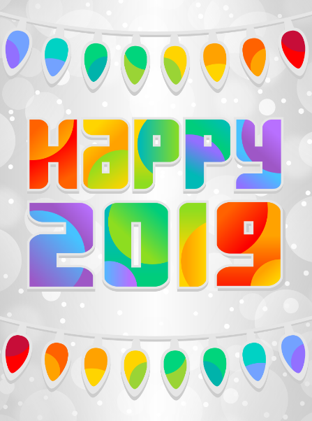 Happy New Year 2019 Clipart Gif Animated Images For Kids Preschoolers Toddlers