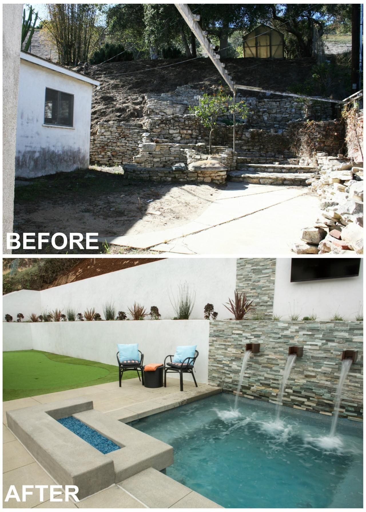 5 california backyard makeovers from u0027flip or flop selling summer