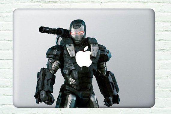 Ironman Mac Decal Macbook Stickers Macbook Decals by MixColor
