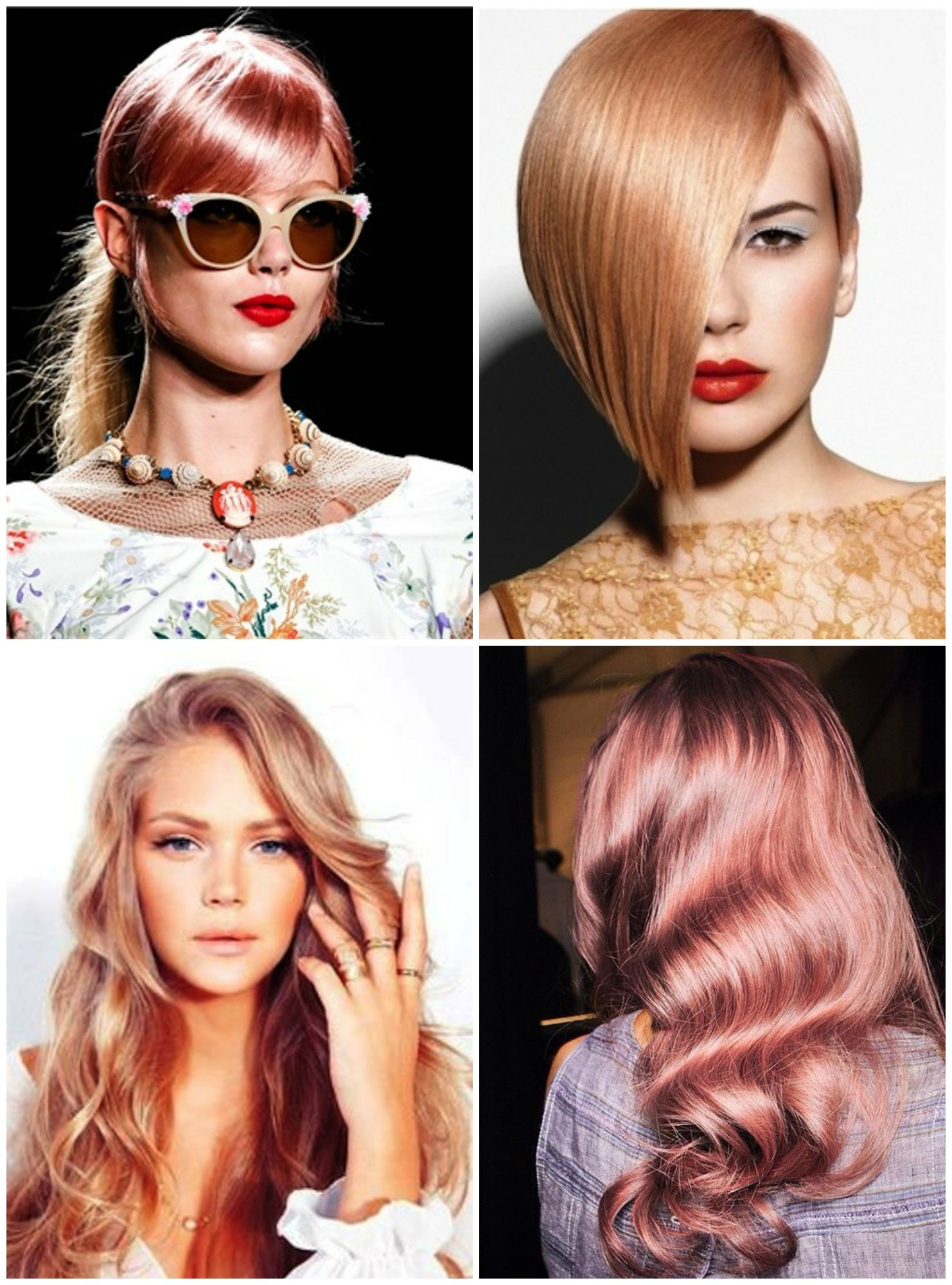 Rose Gold on Pinterest | Rose Gold Hair, Rose Gold and ...