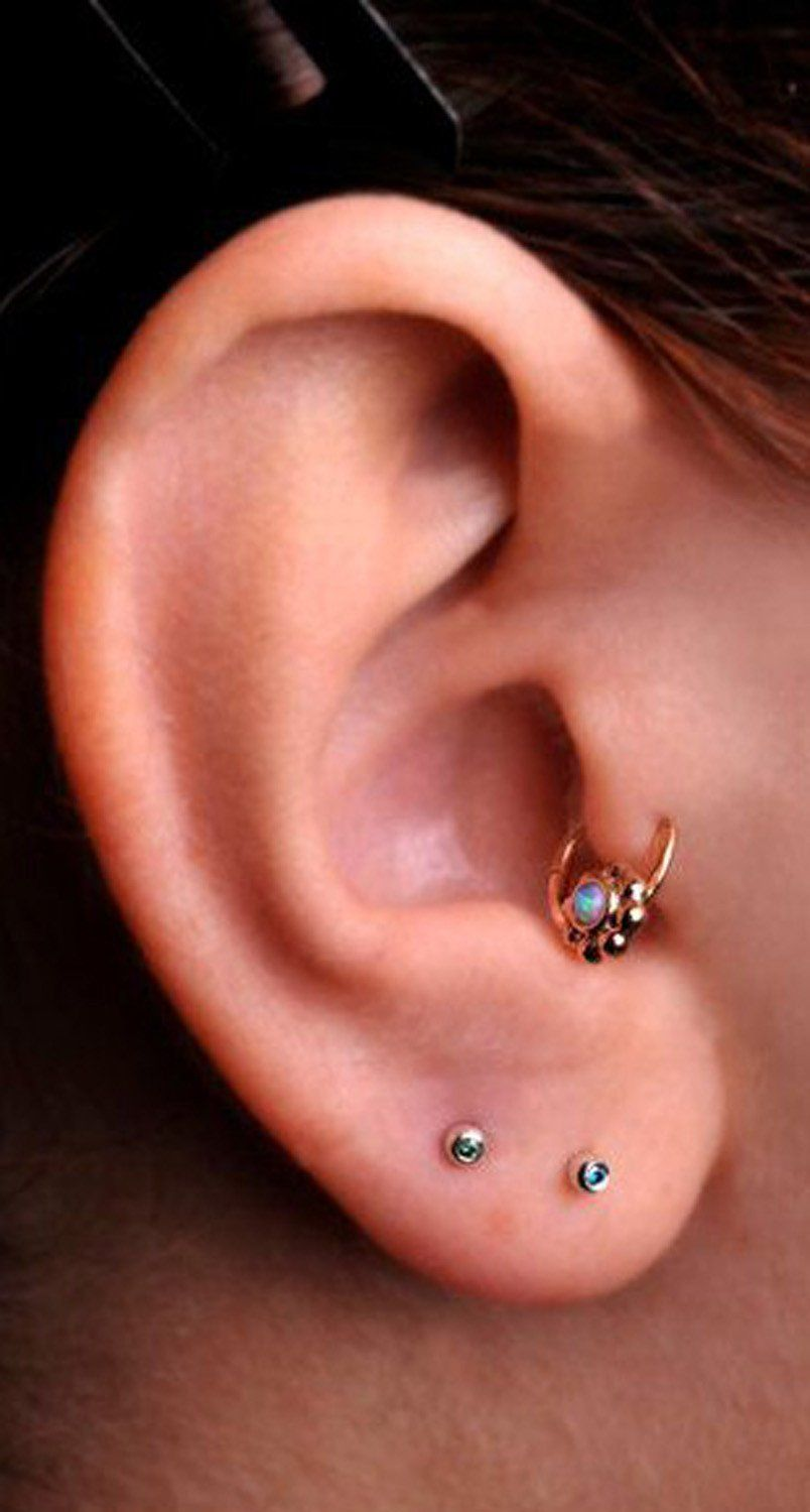 Nose piercing without earring  Steal These  Ear Piercing Ideas  Tragus piercing jewelry Tragus