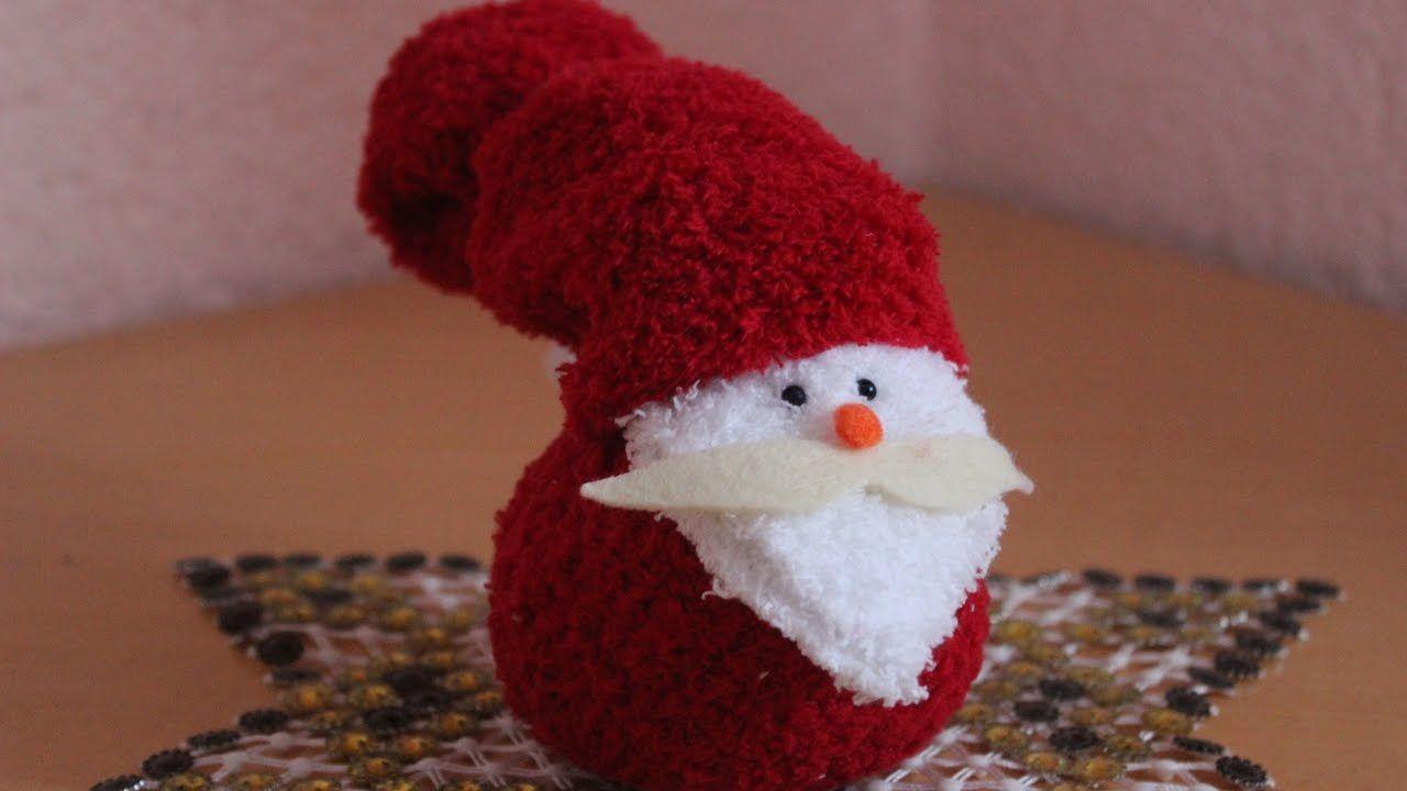 Diyweihnachtsmann Aus Socken Santa Claus Out Of Socks