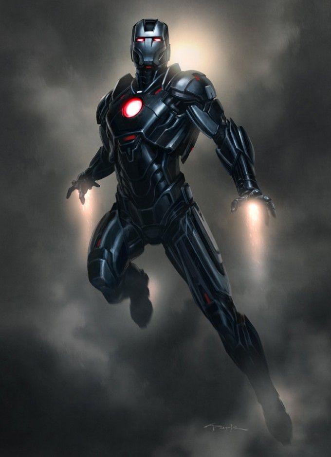 Resultado de imagem para iron man mk 16 black