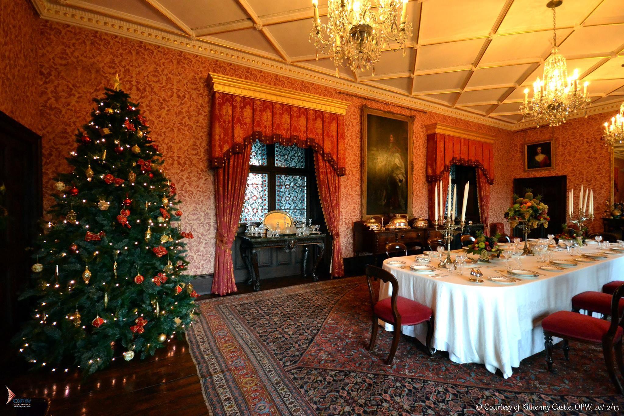Kilkenny Castle at Christmas