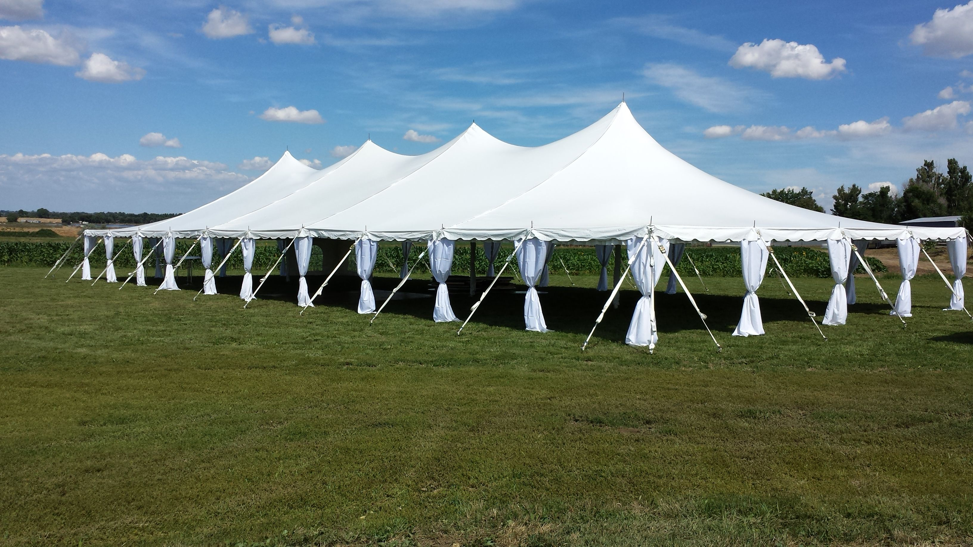Tent From Benson Tent Rental Party Tent Rentals Tent Rentals