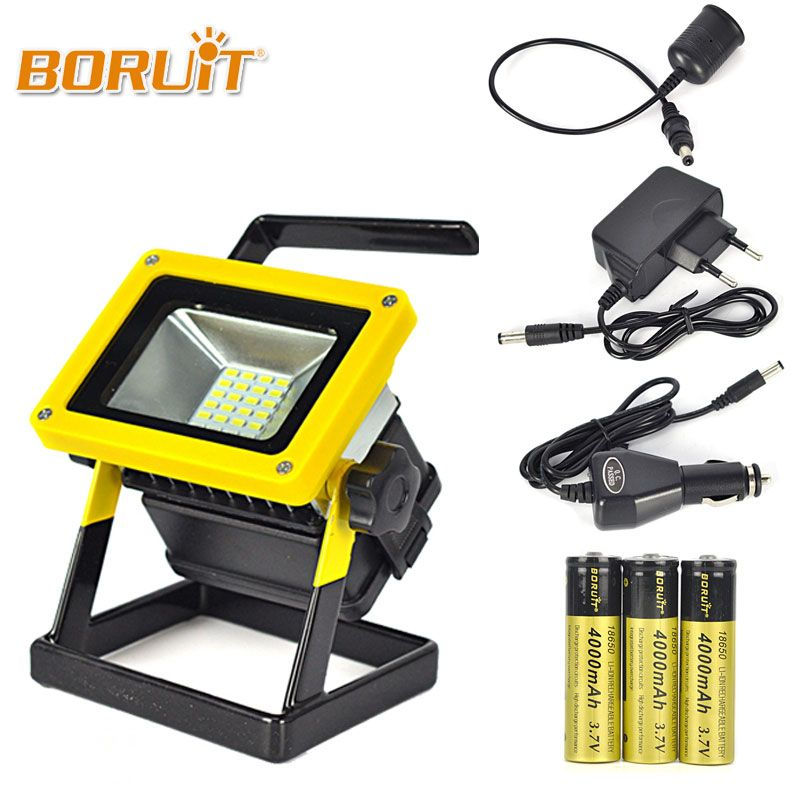 Camping Shirts 10w Outdoor Led Flood Lights Rechargeable 24 Led Floodlight Camping Work Lamp Ip65 Red White Blue Light Led Flood Lights Flood Lights Led Flood