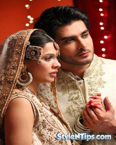 Wedding Pics Of Imran Abbas With His Wife