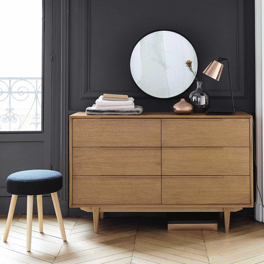 Vintage Doppelkommode Aus Massiver Eiche Von Maisons Du Monde. Die Gesamte  Welt Der Möbel Und Dekorationen Finden Sie In Unserem Shop.