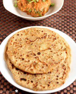 lunch recipes mint recipes food recipes paratha recipes on hebbar s kitchen dinner recipes id=75834