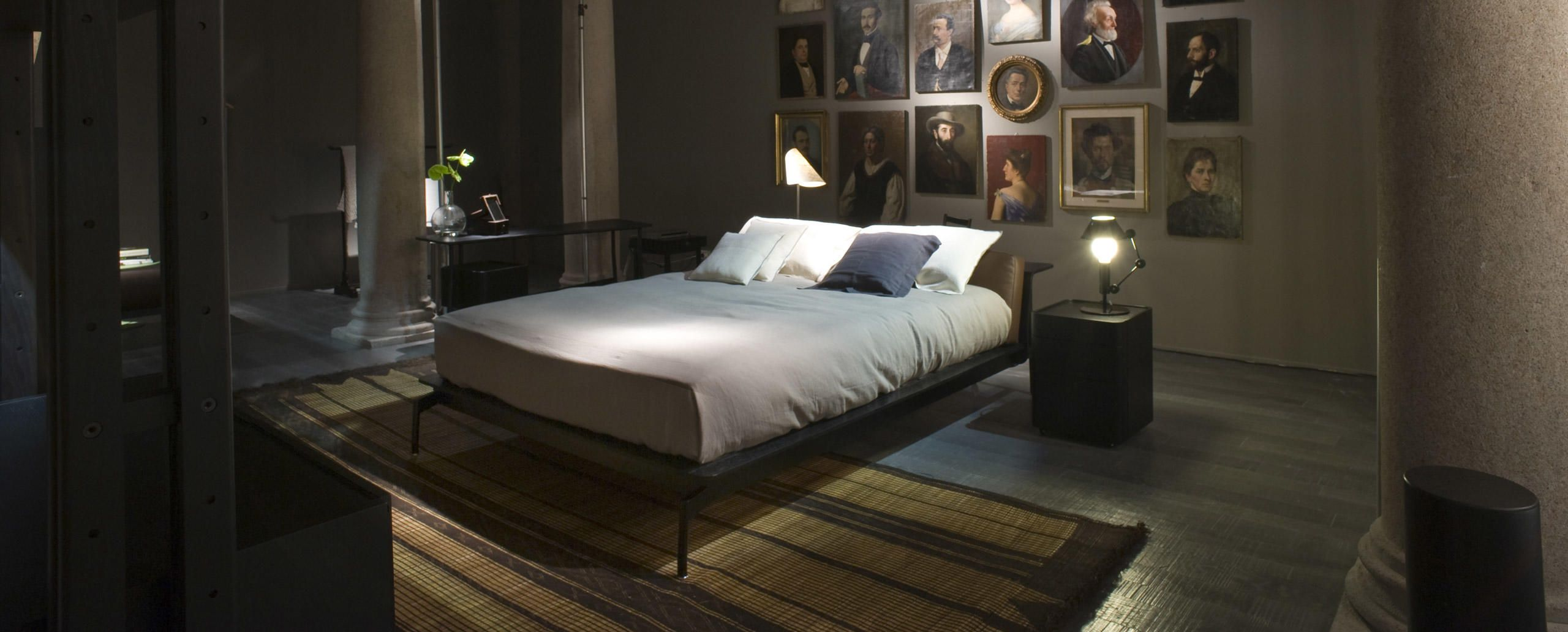 Beds L41 Sled Designed By Rodolfo Dordoni Cassina With