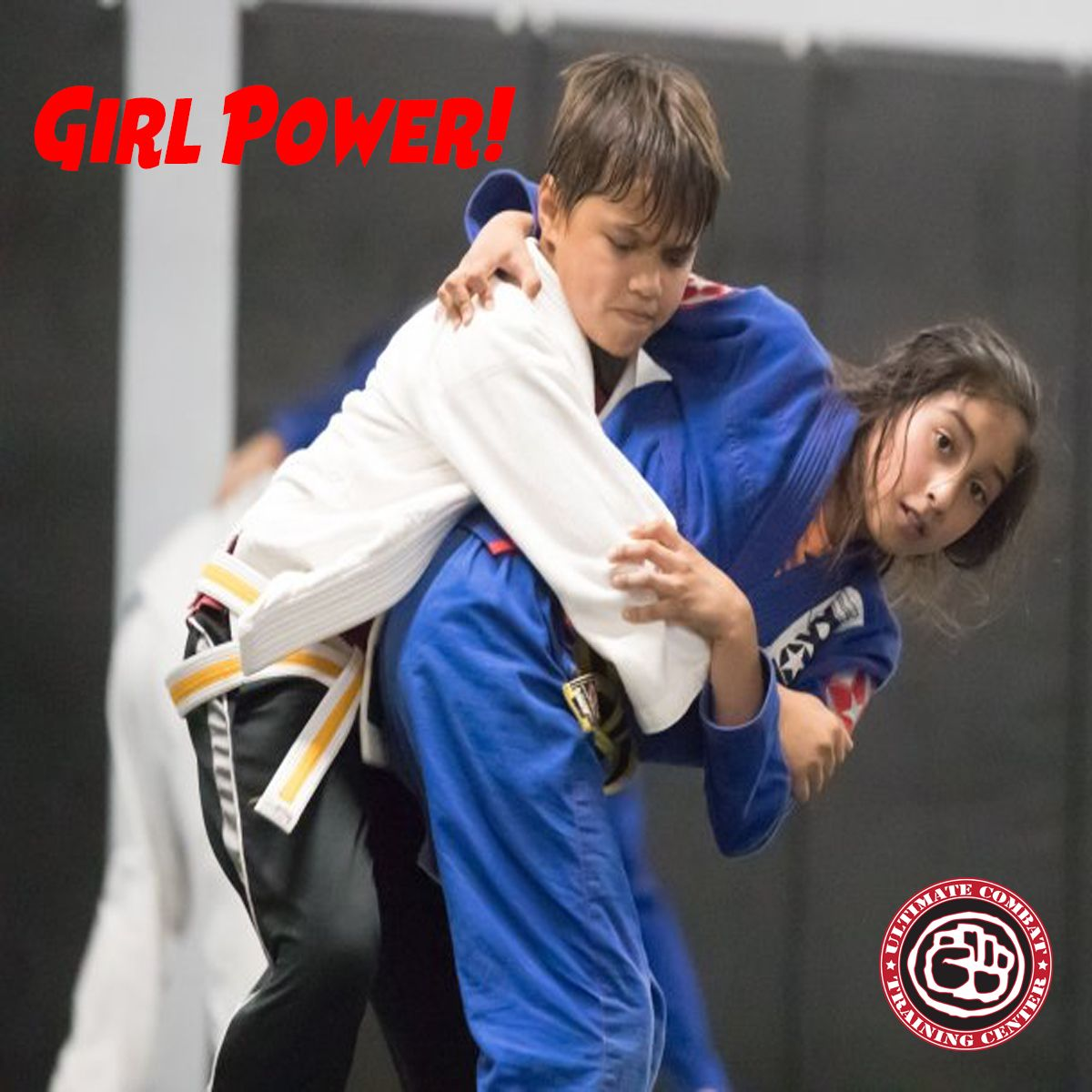 Brazilian Jiu Jitsu Classes In Salt Lake City Utah Gives Girl Power To Girls Www Ultimatecombat Com Martial Arts Kids Brazilian Jiu Jitsu Combat Training