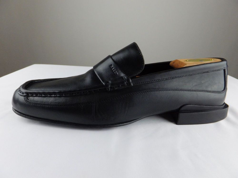 9f9050ac4 BALLY Italy Rumo Black Slip On Leather Loafers Driving Shoes Men 11.5 E  Wide #Bally #LoafersSlipOns #Casual