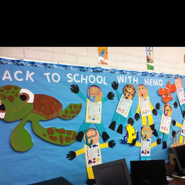 Classroom Decor Under The Sea : Like the whole under sea idea with nemo dory