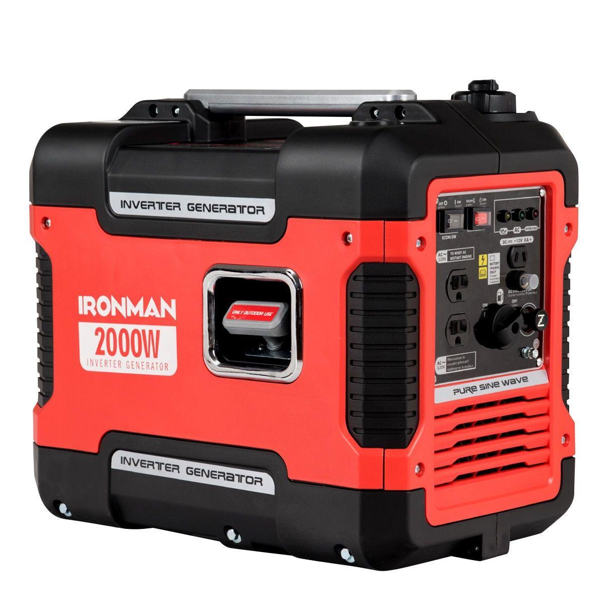 2000 W Portable Single Cylinder Inverter Gasoline Generator Inverter Generator Portable Inverter Generator Portable Solar Generator