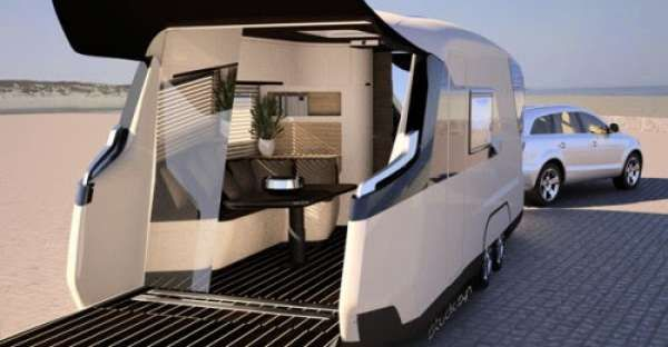What Happens When You Combine a Camper and a Yacht