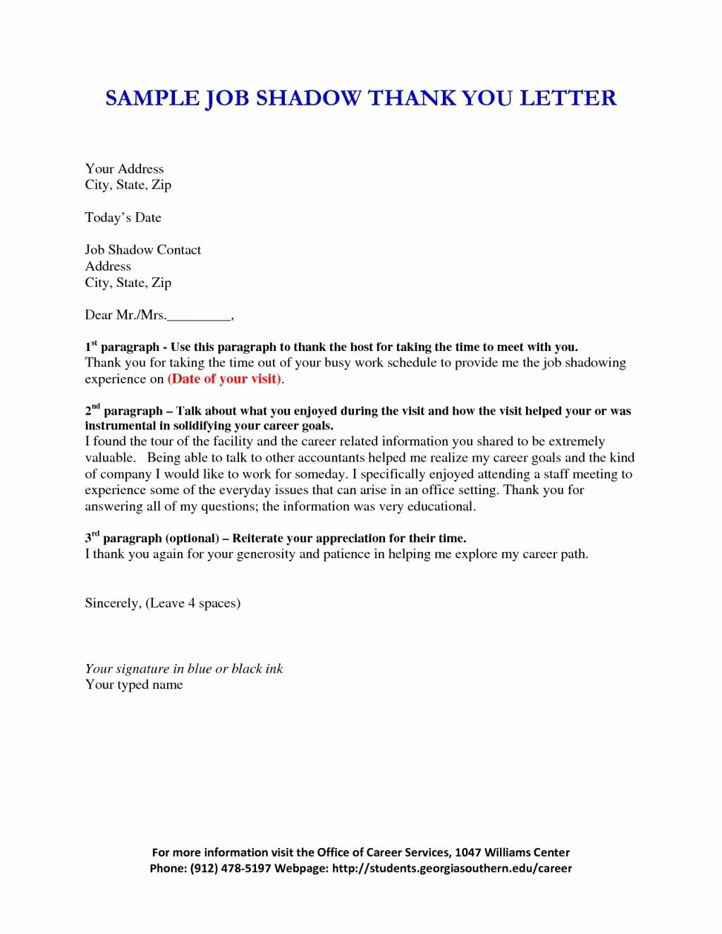 shadowing letter of recommendation sample best of how to