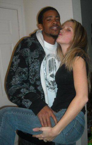 Interracial dating white woman black man