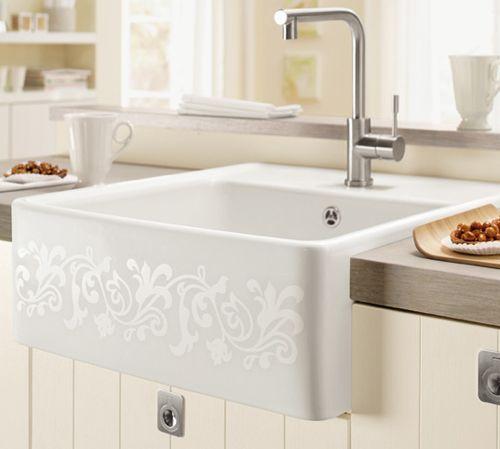 villeroy boch keramiksp le 6320 61 sp lstein einzelbecken mit handbet tigung nordsee k chen. Black Bedroom Furniture Sets. Home Design Ideas