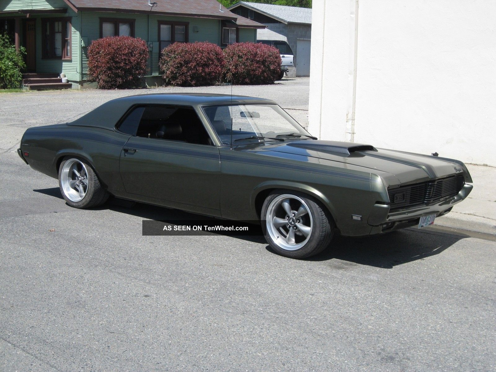1969 Cougar 1967 1968 1970 Mustang Camero Hotrod Muscle